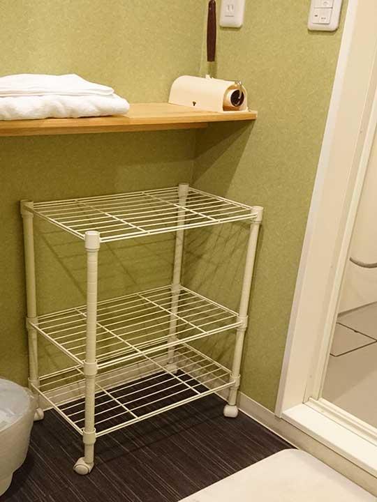 東京 サムライズホステル池袋のバスルーム