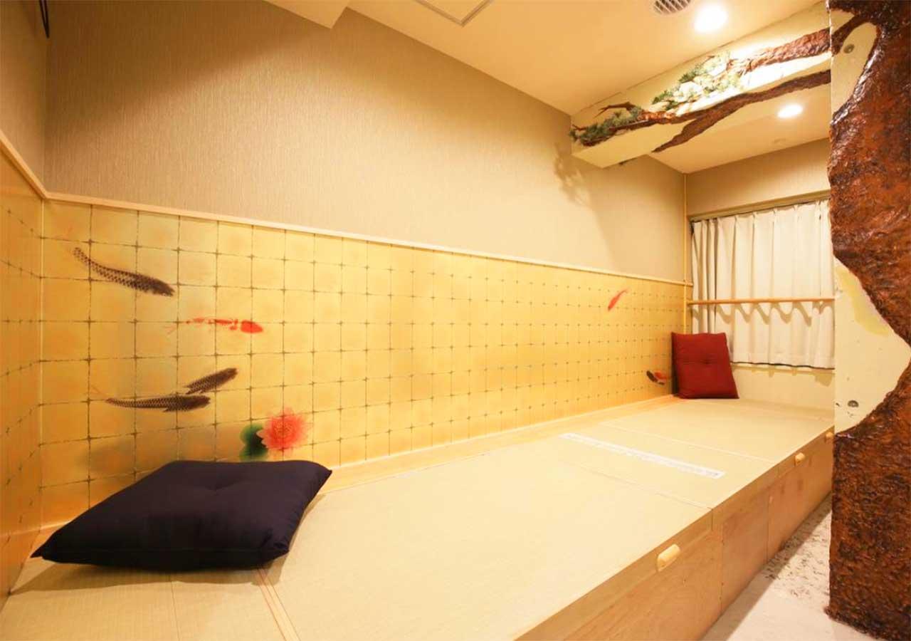 東京 サムライズホステル池袋の部屋のプライベートルーム(ツイン)