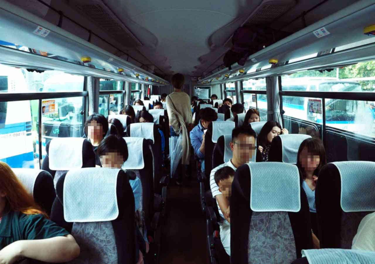 東京 THEアクセス成田のバス車内