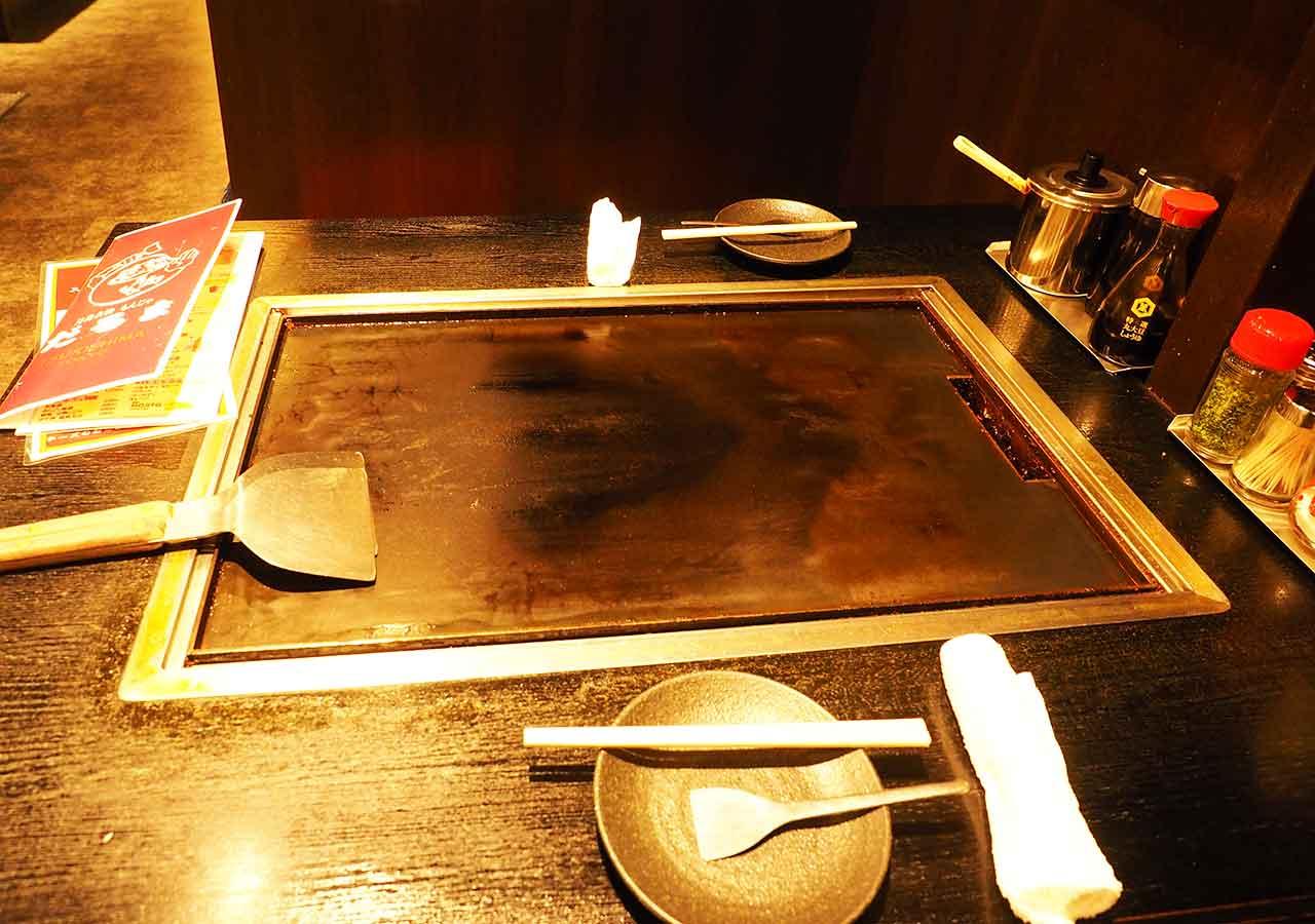 月島名物もんじゃ だるま 東京スカイツリータウン・ソラマチ店のもんじゃ焼き