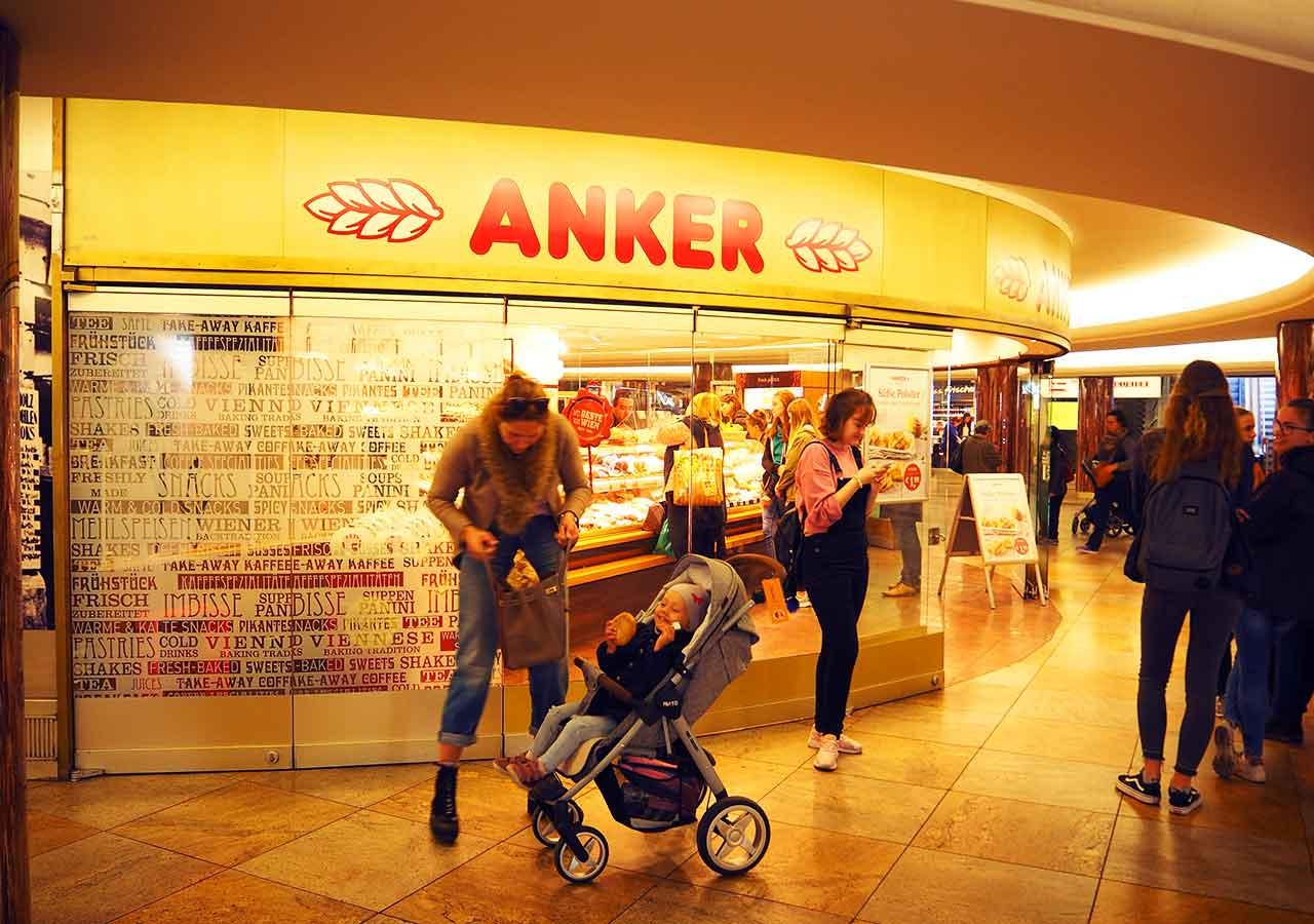 ウィーン観光 ウィーンパス・チケットオフィスの位置 ANKER