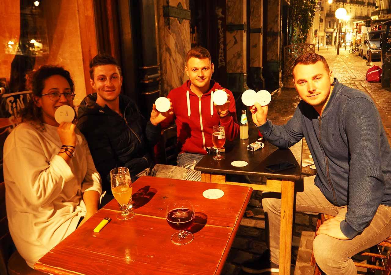 ブリュッセルのおすすめレストラン Fin de Siecle(ファン・ド・スィエークル)のスタッフ