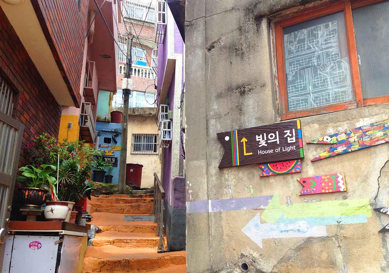 釜山観光 ストリートアート