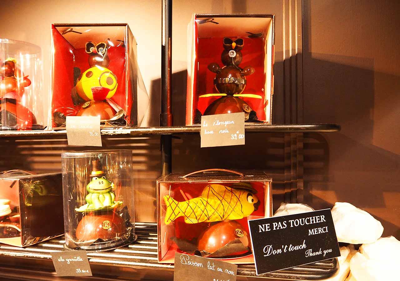 フランス・パリのお土産 モンマルトル メゾン ジョルジュ ラルニコル (Maison Georges Larnicol)