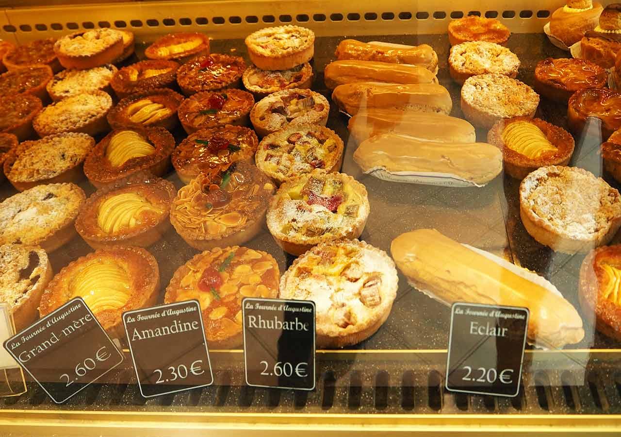 フランス・パリのお土産 パティスリーのケーキ
