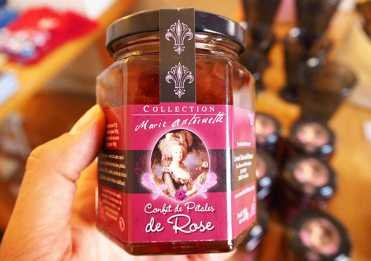フランス・パリのお土産 マリーアントワネット関連グッズ バラの花びらの砂糖漬け
