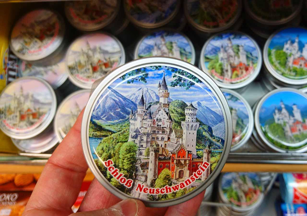 ノイシュバンシュタイン城のお土産 キャンディ