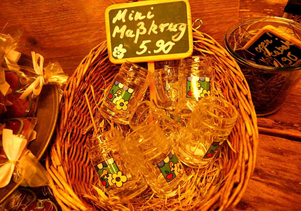 ミュンヘンのお土産 ヴィクトリアンマルクトのマーズグラス