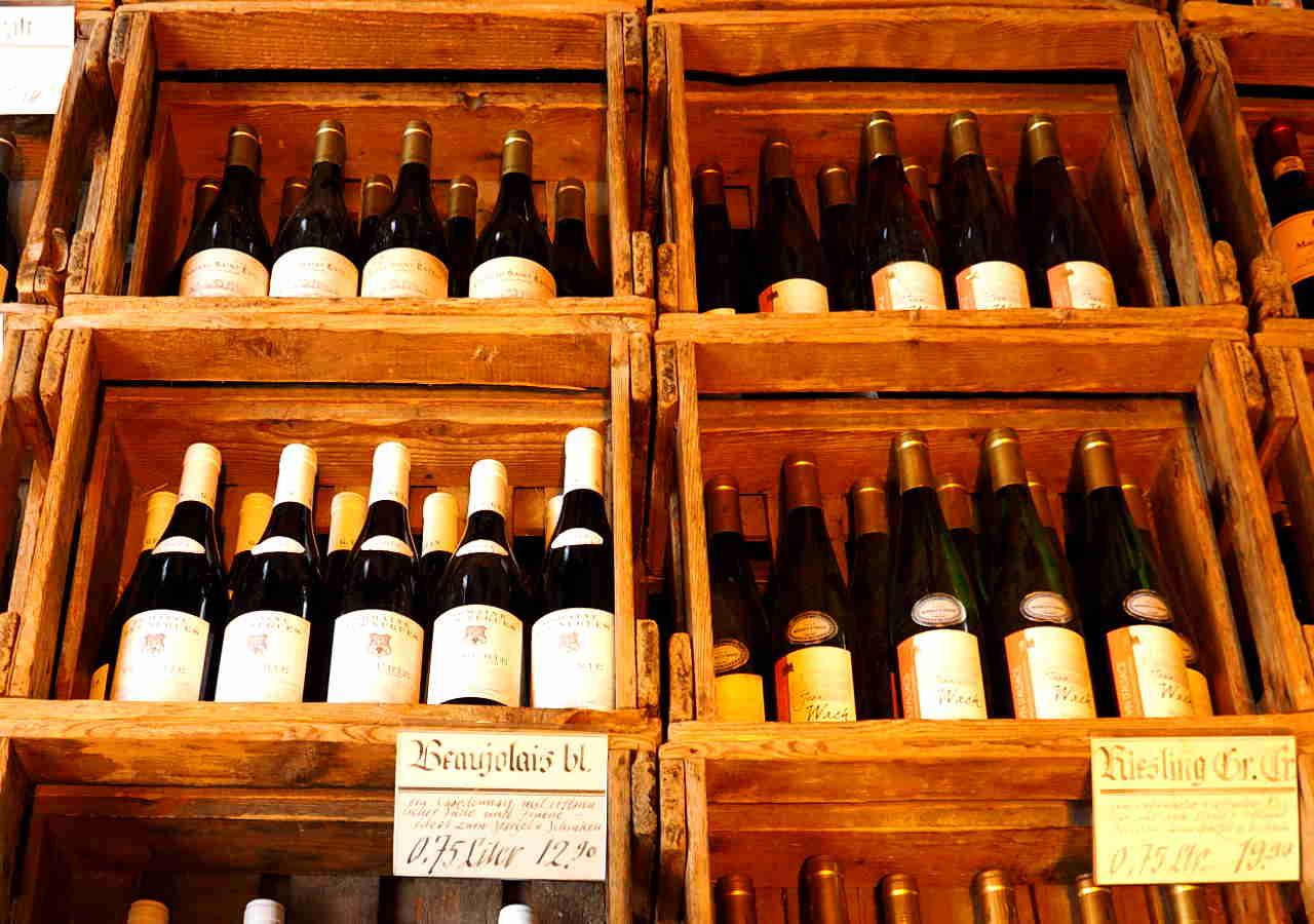 ミュンヘンのお土産 ヴィクトリアンマルクトのワイン