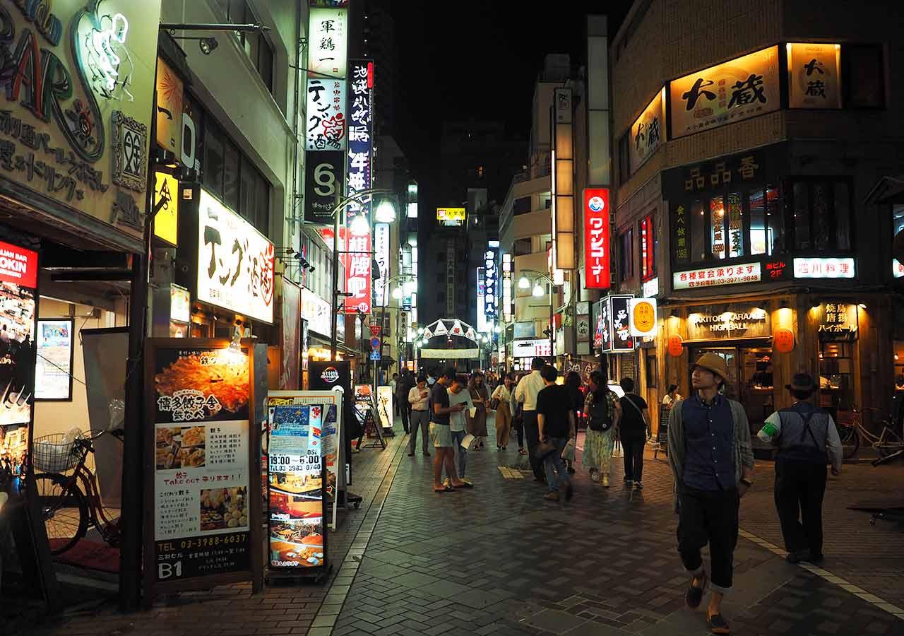 東京観光 池袋西一番街