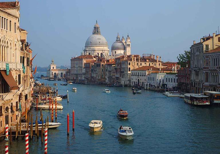 ベネチア観光 アッカデーミア乗り場(Servizio Gondola Accademia)のルート