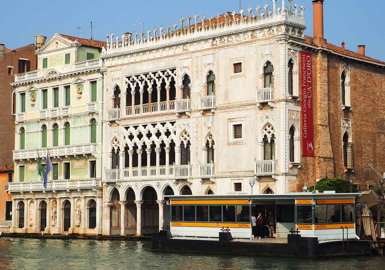 ベネチア観光 ヴァポレット(VAPORETTO)の乗り場