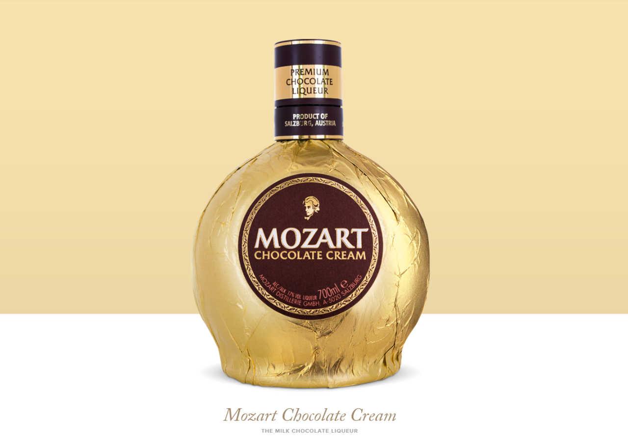 オーストリア・ウィーンのお土産 モーツァルトチョコレートクリーム(Mozart Chocolate Cream)
