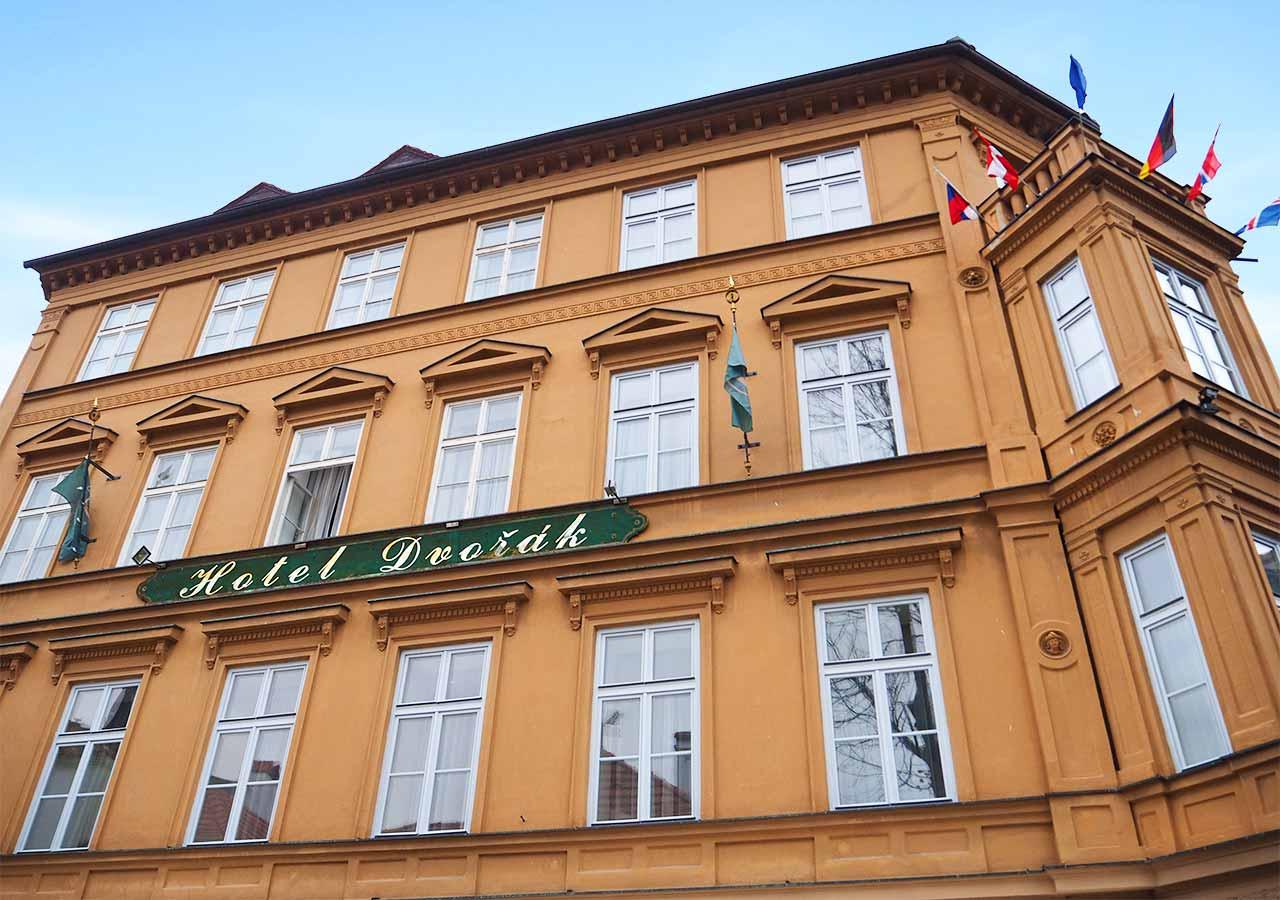 チェスキークルムロフ観光 おすすめホテル ホテル ドヴォラック(Hotel Dvorak)