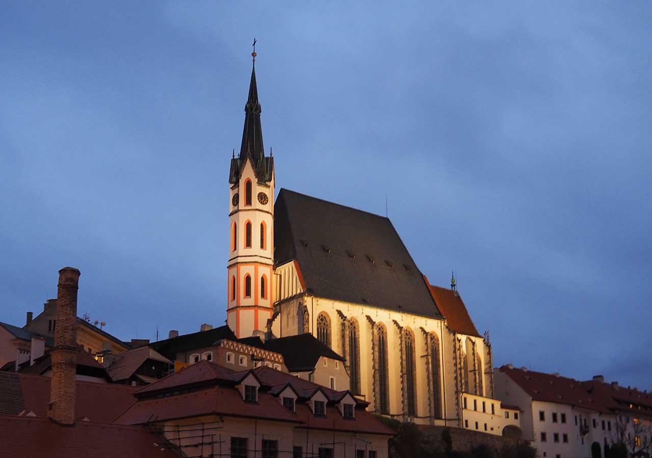 チェスキークルムロフ観光 聖ヴィート教会(St. Vitus Church)