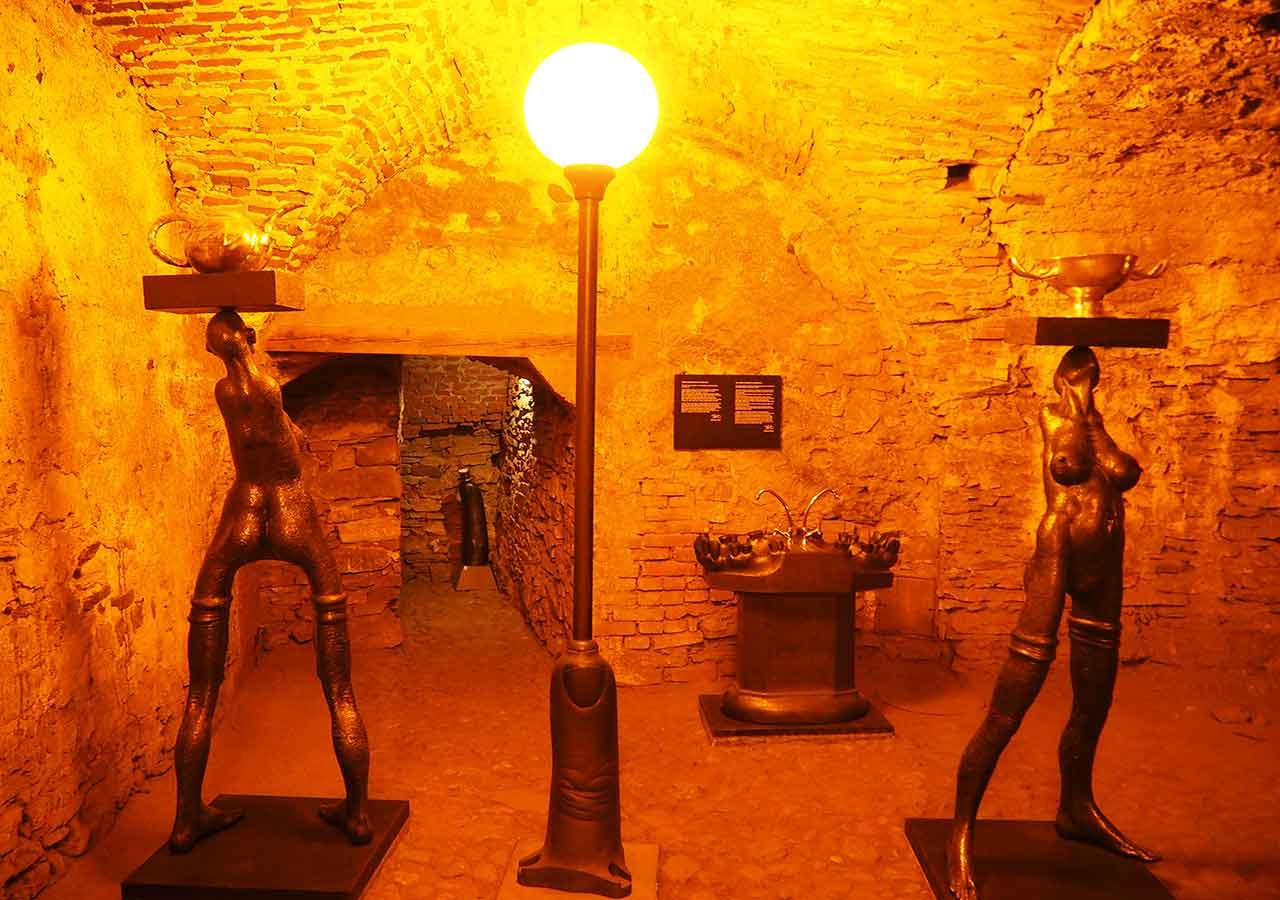 チェスキークルムロフ観光 ヴァーツラフの地下室(Vaclavske Sklepy)