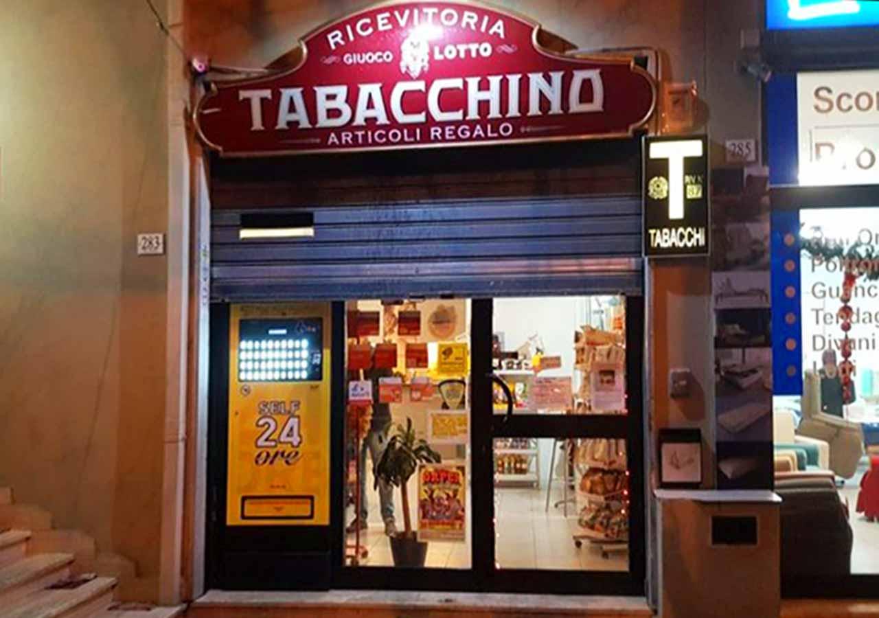 イタリア旅行の準備 イタリアのコンビニ「タバッキーノ(Tabacchino)」