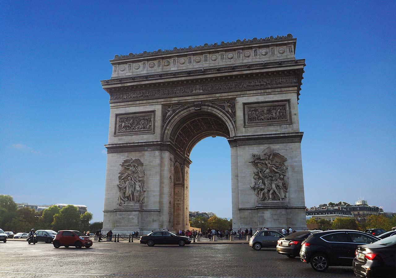パリ観光 凱旋門