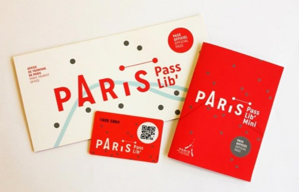 パリ観光 パリのメトロ(地下鉄)の切符 Passlib(パスリブ、パリ・シティ・パスポート)