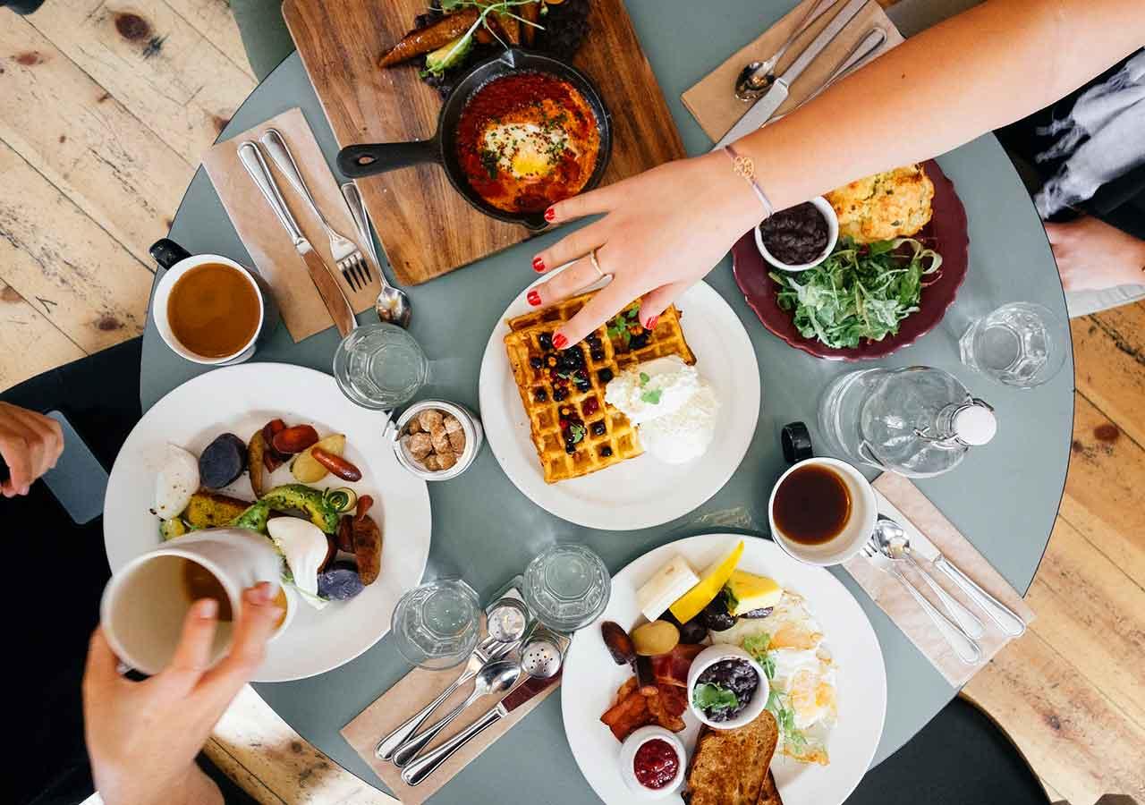 旅行で使える英語フレーズ レストランの画像