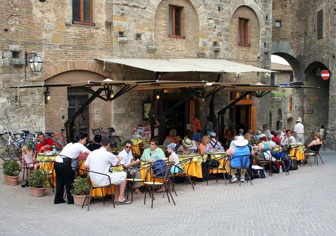 イタリア旅行 注意すべきこと イタリアのレストラン