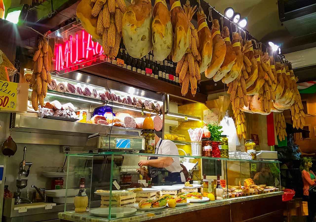 イタリア旅行 注意すべきこと イタリアのお店