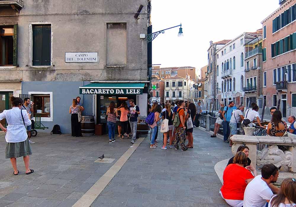 ベネチアのバーカロ10選 Bacareto Da Lele