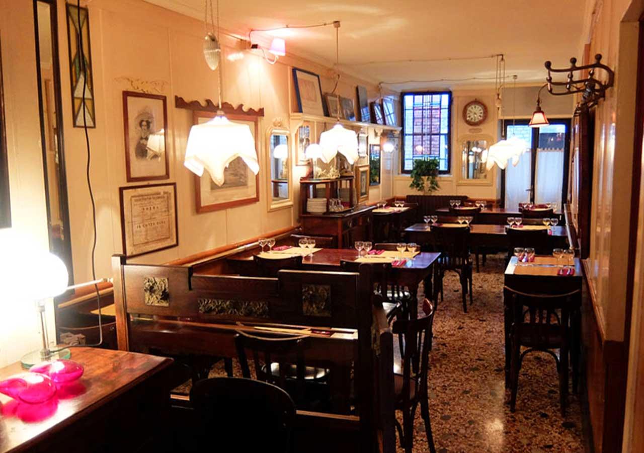 ベネチアのおすすめレストラン Cà D'Oro alla Vedova