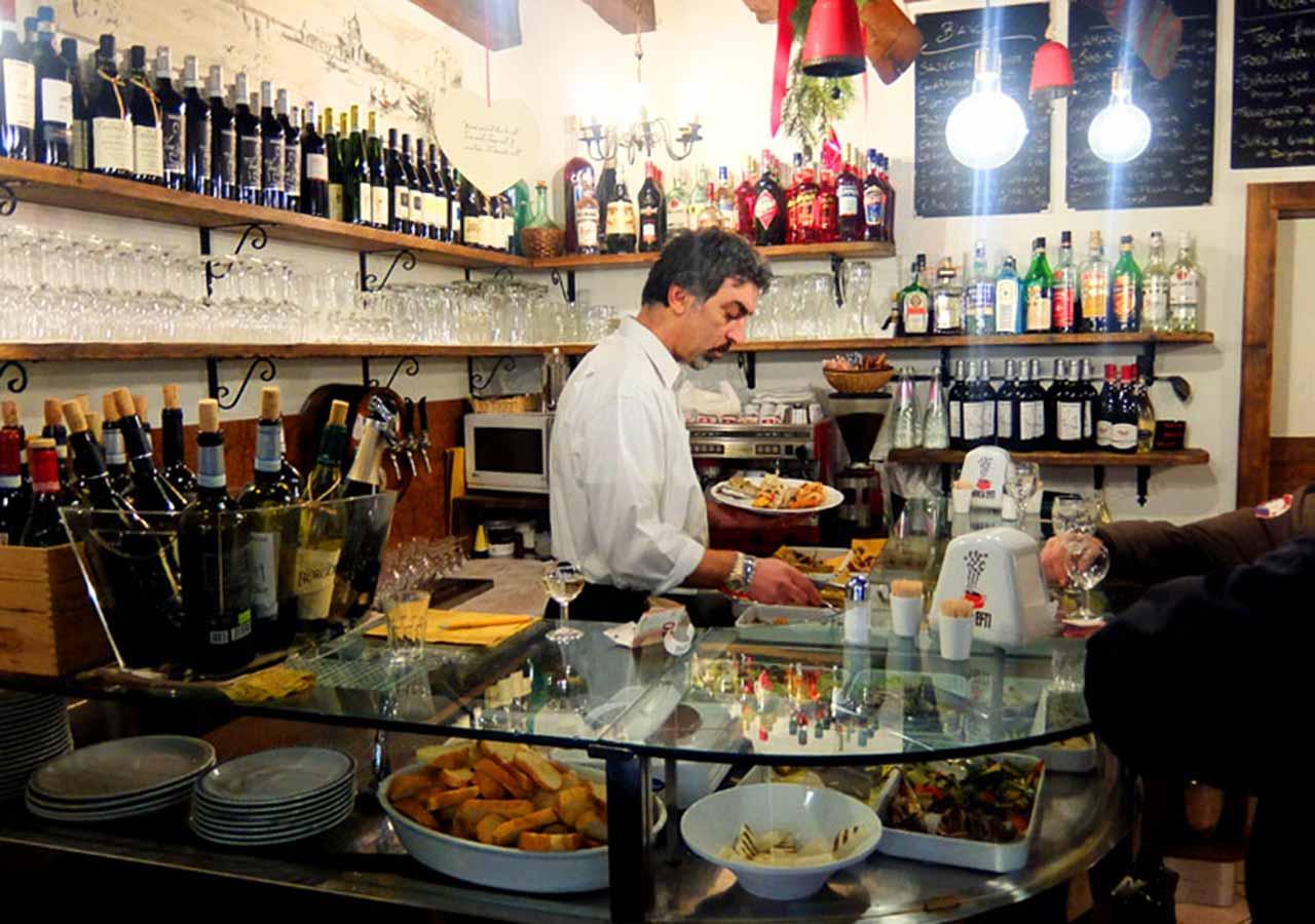 ベネチアのおすすめレストラン Bacaro Da Fiore