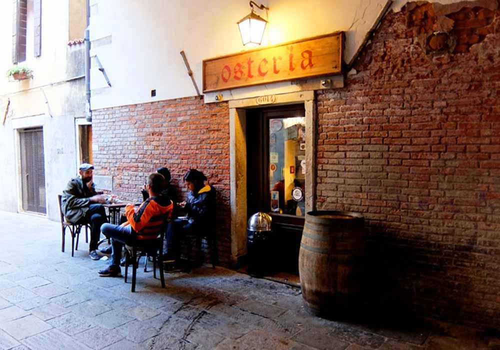 ベネチアのバーカロ10選 Osteria Al Portego