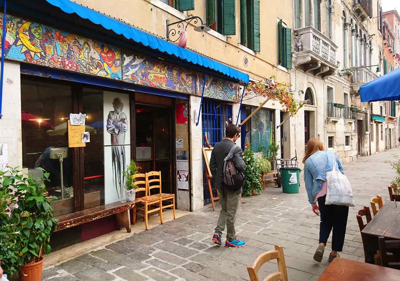 ベネチアのおすすめレストラン Il Paradiso Perduto