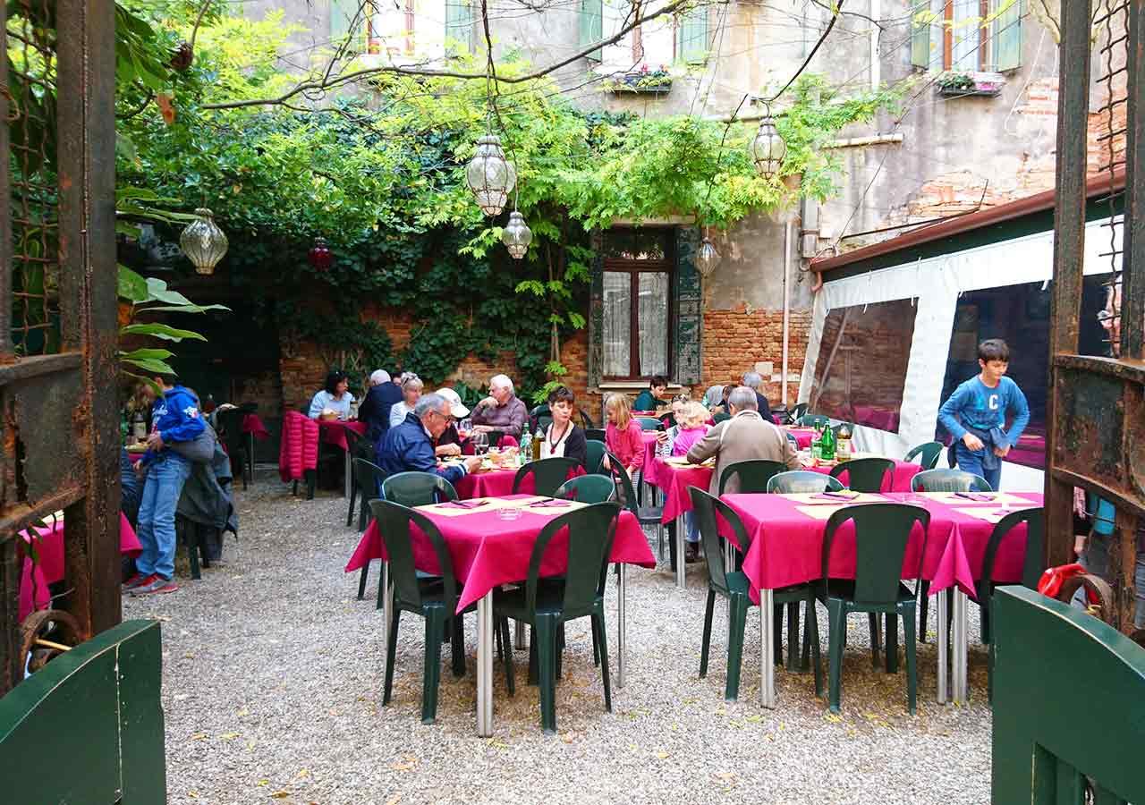 ベネチアのおすすめレストラン Osteria Nono Risorto