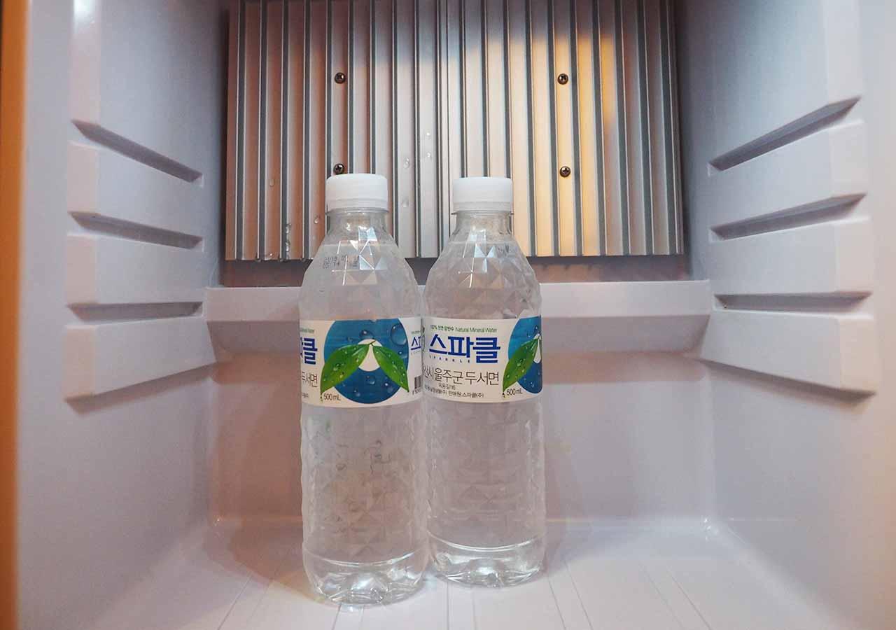 釜山・西面(ソミョン)エリアのホテル イビスアンバサダー釜山シティセンター 冷蔵庫