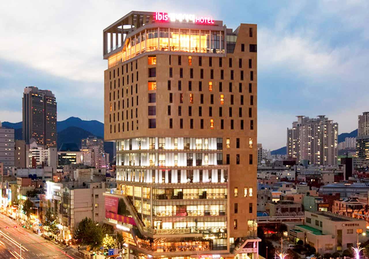 釜山・西面(ソミョン)エリアのホテル イビスアンバサダー釜山シティセンター