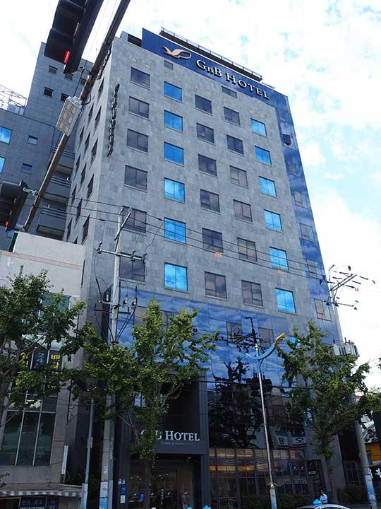 釜山(プサン)のおすすめホテル18選 南浦洞エリア GNB ホテル(GNB Hotel)