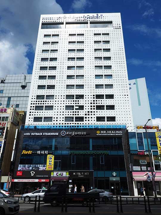 釜山(プサン)のおすすめホテル18選 南浦洞エリア ホテル フォーレ プレミア ナンポー(Hotel Foret Premier Nampo)