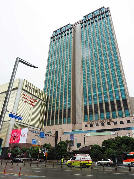 釜山(プサン)のおすすめホテル18選 >ロッテ ホテル釜山(Lotte Hotel Busan)