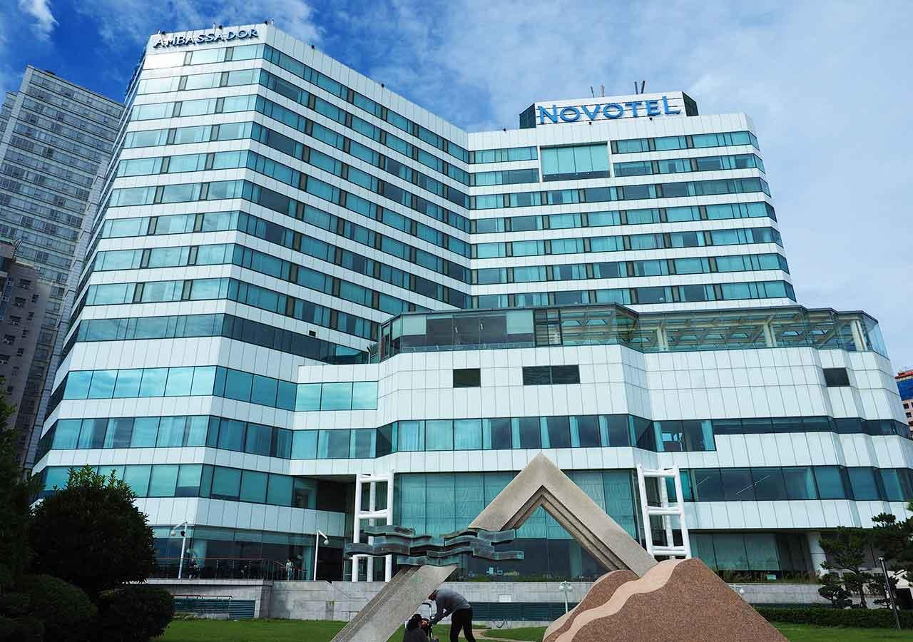 釜山(プサン)のおすすめホテル18選 海雲台エリア ノボテル アンバサダー プサン(Novotel Ambassador Busan)