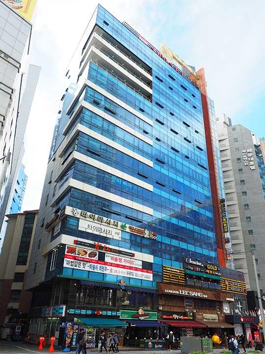 釜山(プサン)のおすすめホテル18選 海雲台エリア サンセット ビジネス ホテル(Sunset Business Hotel)