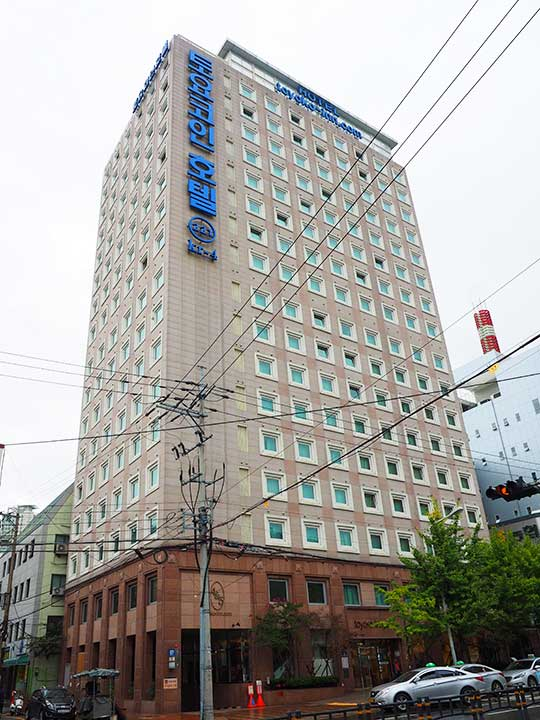 釜山(プサン)のおすすめホテル18選 東横イン釜山西面(Toyoko Inn Busan Seomyeon)