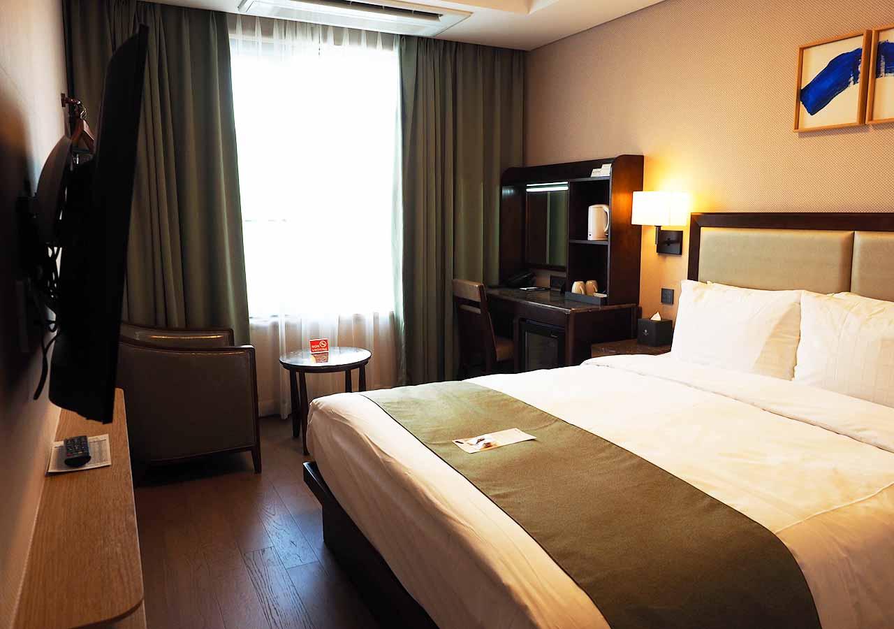 釜山観光 おすすめホテル スタンフォードイン釜山