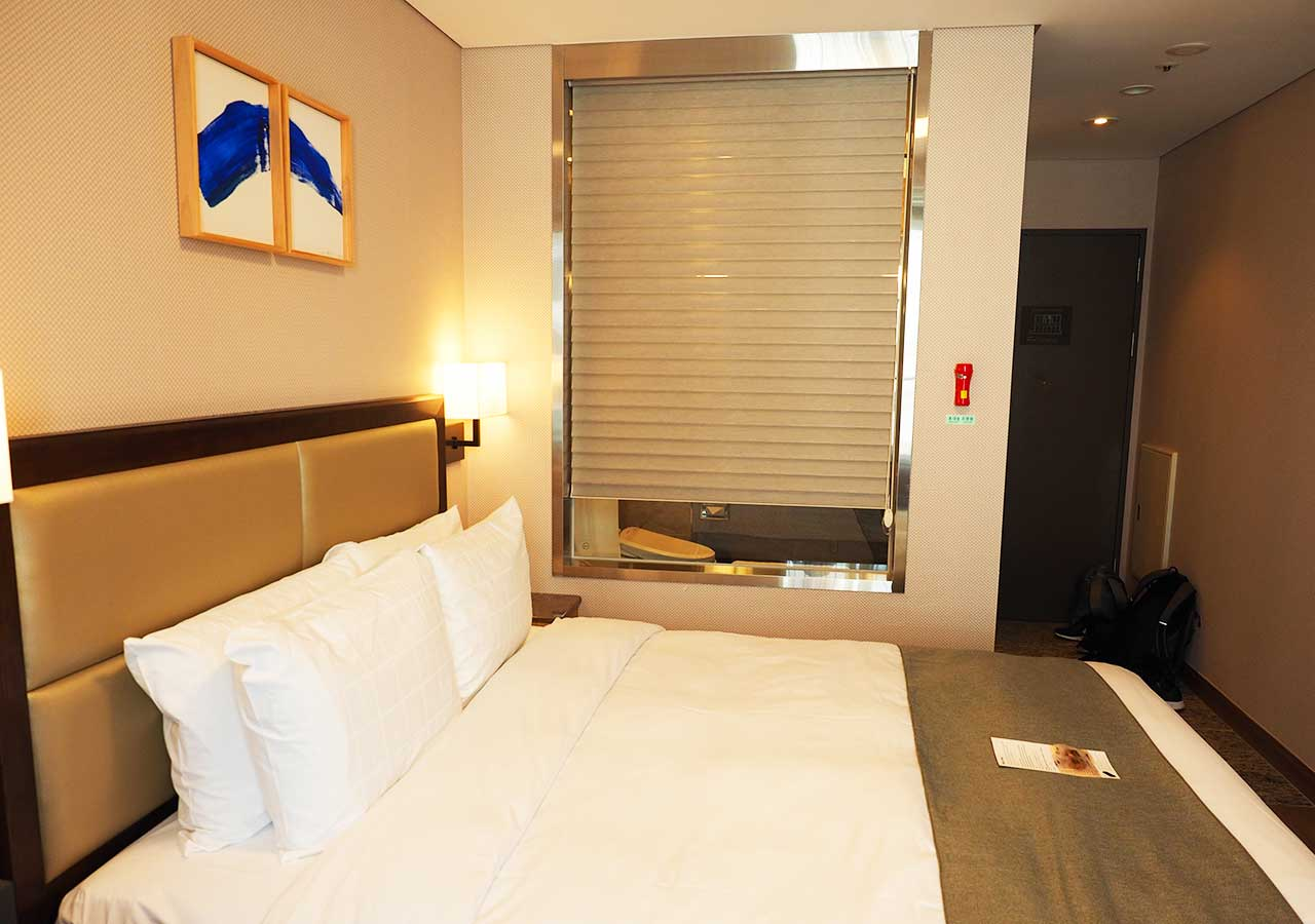 釜山・南浦洞のおすすめホテル スタンフォードイン釜山 客室
