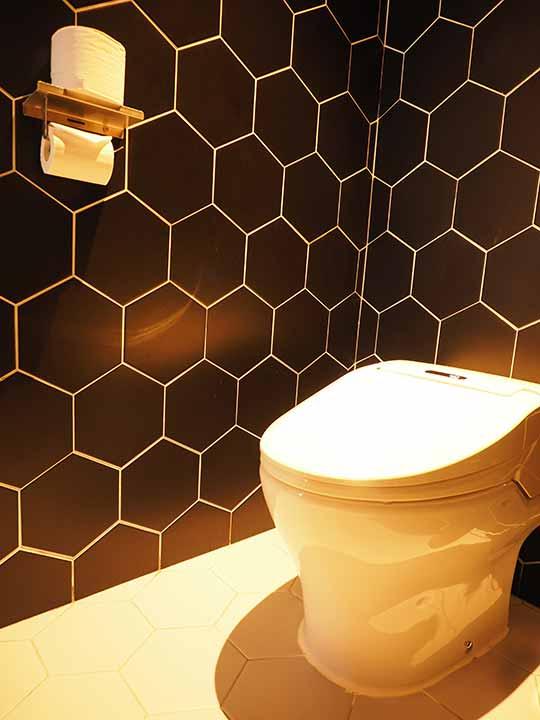 釜山・西面(ソミョン)エリアのおすすめホテル サウスバンデコホテルの客室のトイレ