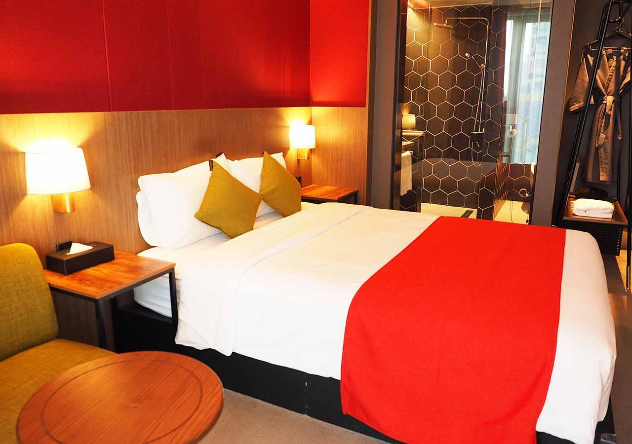 釜山・西面(ソミョン)エリアのおすすめホテル サウスバンデコホテルの客室