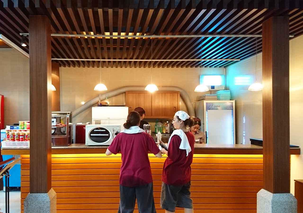 釜山観光 新世界スパランド カフェ・ドリンクバー
