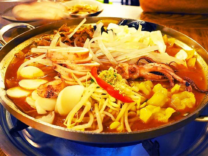 「釜山の南浦洞グルメ!絶品のイカ入り海鮮プルコギが食べられるお店はここ!」 トップ画像