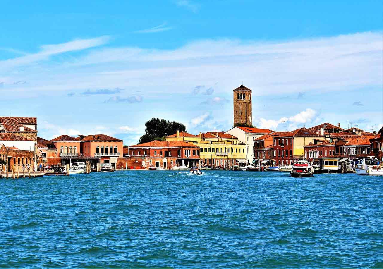 ベネチアの離島巡り ムラーノ島