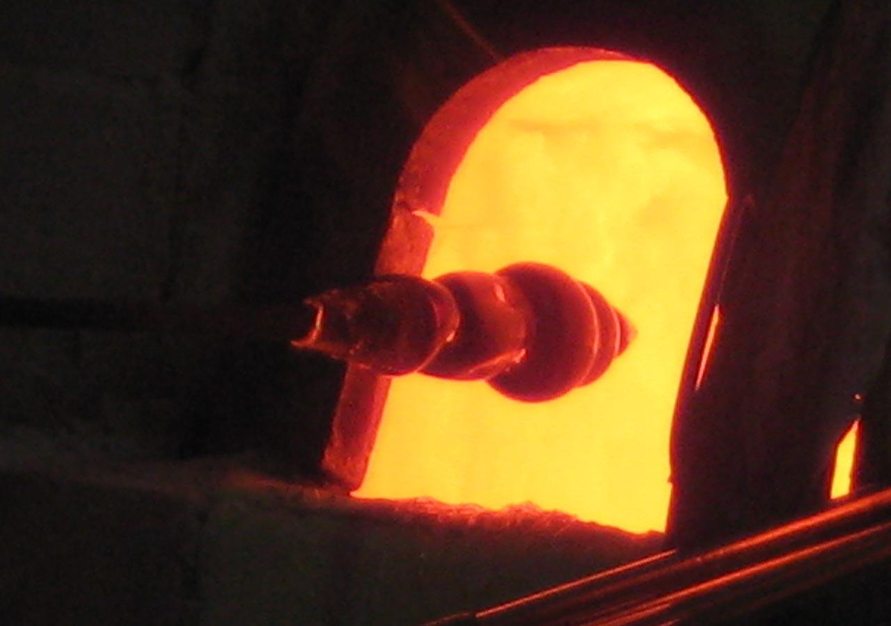 ベネチアの離島ムラーノ島 ガラス工房