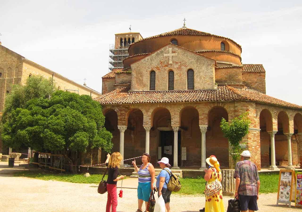 ベネチアの離島トルチェッロ島 サンタ・マリア・アッスンタ聖堂 (Basilica di Santa Maria Assunta)