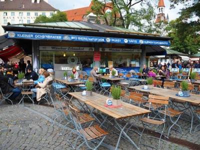 「 ミュンヘンの市場・ヴィクトアリエンマルクトでランチ・買い物・お土産探し!」 トップ画像